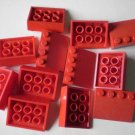 Lego Red Slope Roof Slant 4x3x1 12 pieces