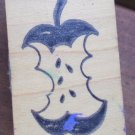 Rubber Stamp Apple Core Great Impressions B46