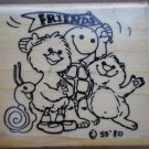 Rubber Stamp Suzy Zoo Friends 602C 1980 Rubber Stampede