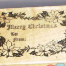 1988 PSX Rubber Stamp Merry Christmas F-348 WM