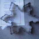 Snowflake Cookie Cutter Stainless Steel Metal 1998 Bob Siemon Designs