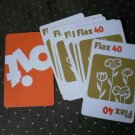 Flax Cards 9 Pit Trading Game Parts 661 Parker Brothers 1973