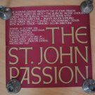 The St John Passion Vintage Poster Hopkins Center NH 1981