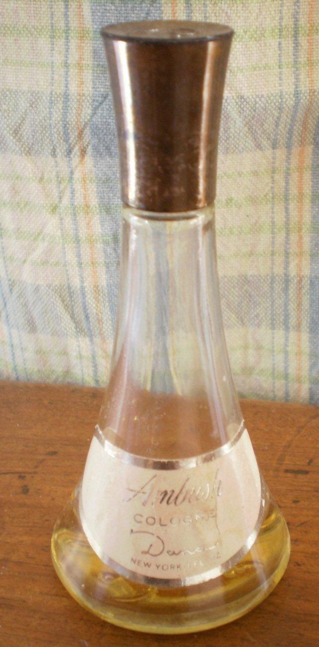Ambush Cologne Dana 1oz Lot 2 Vintage Perfume Bottles