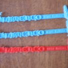Flamenco Swizzle Sticks Miami Florida Dancing Lady Lot 3 AS IS