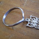 Vintage Child Sterling Silver Butterfly Ring 925