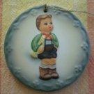 1984 1st Statuette Medallion Ornament Schmid Hummel Hark the Herald