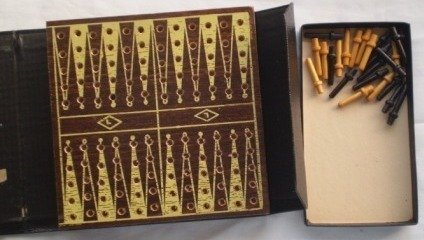 E S Lowe Backgammon Volume 521 Vintage 1939