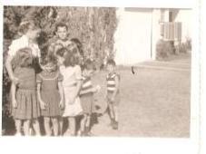 Vintage Photograph Children Group Family