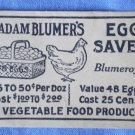 Madam Blumer Egg Saver Envelope Vintage Blumeroy