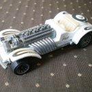 Sweet 16 Mattel 1970 Toy Car Roadster White
