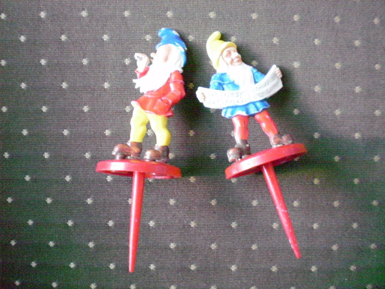 Cake Decorating Picks Dwarf Elf Lot 2 Germany Pics