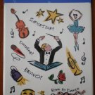 Hallmark Stickers Performing Arts Dance Drama Music 4 sheets NIP Acid Free