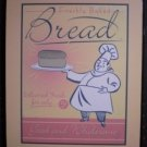 Freshly Baked Bread 5¢ Sign Plaque Wood Baker Chef Kitchen Decor