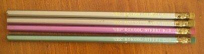 Vintage Pencils School Street No 2 Lot 4