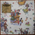 Vintage Gift Wrap Pleasant Thoughts All Occasions Wrapper 2 sheets