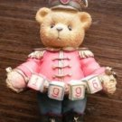 Cherished Teddies 1996 176052 Soldier Bear Ornament