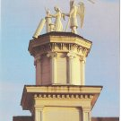 Postcard Father Time Maiden Mendocino CA Masonic Lodge