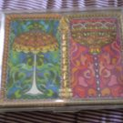 Vintage Stancraft Plastic Coated Playing Cards 2 decks Tiffany Lamp Light