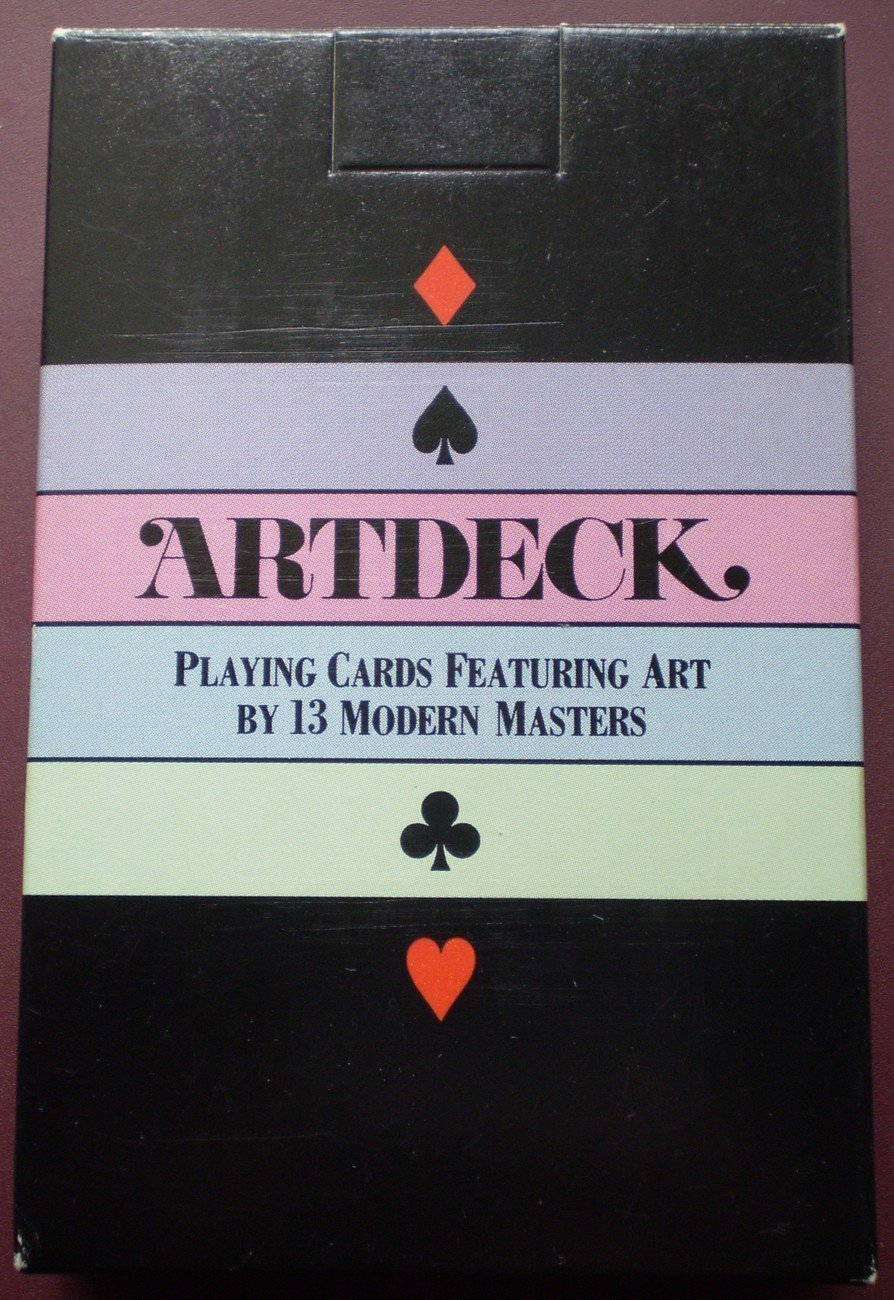 Artdeck Playing Cards Modern Masters Art Aristoplay