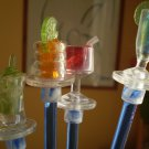 Swizzle Sticks Drinks Acrylic Plastic Champagne Cocktails