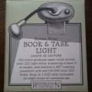 Restoration Hardware Super Mini Book Task Light Clip LED