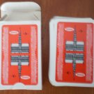 Sabena Belgian World Airlines Playing Cards Vintage Red Deck