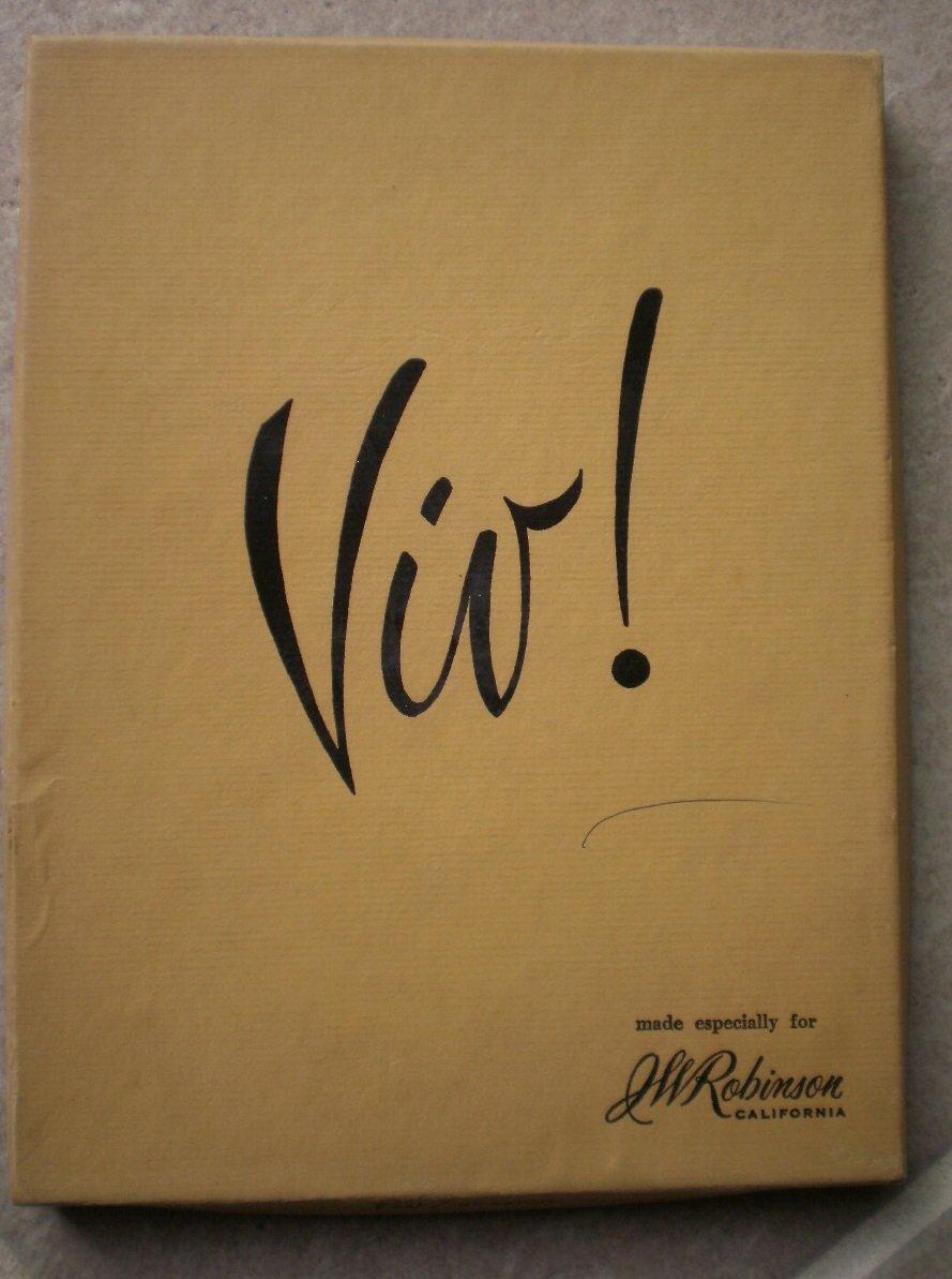 Viv Eaton Stationery Roman Gold JW Robinson Orlando Vintage