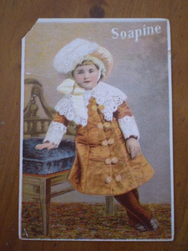 Soapine Kendall Mfg Co Trading Trade Card