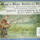 Smith Stevenson Trade Card Fishing Byxbee House Block