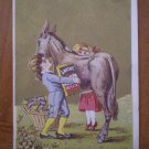 Lavine Washing Powdered Soap Horse Trading Trade Card