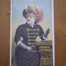 Jennie Kimball Trading Trade Card Courier Utility Company Buffalo NY