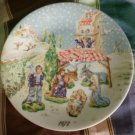 1972 Royal Limoges Plate Noel Nativity Roch Popelier
