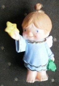 Hallmark Merry Miniature Katybeth 1986 Blue Angel Star