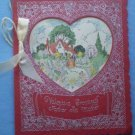 Vintage Valentine Card Rust Craft Boston Mother Father