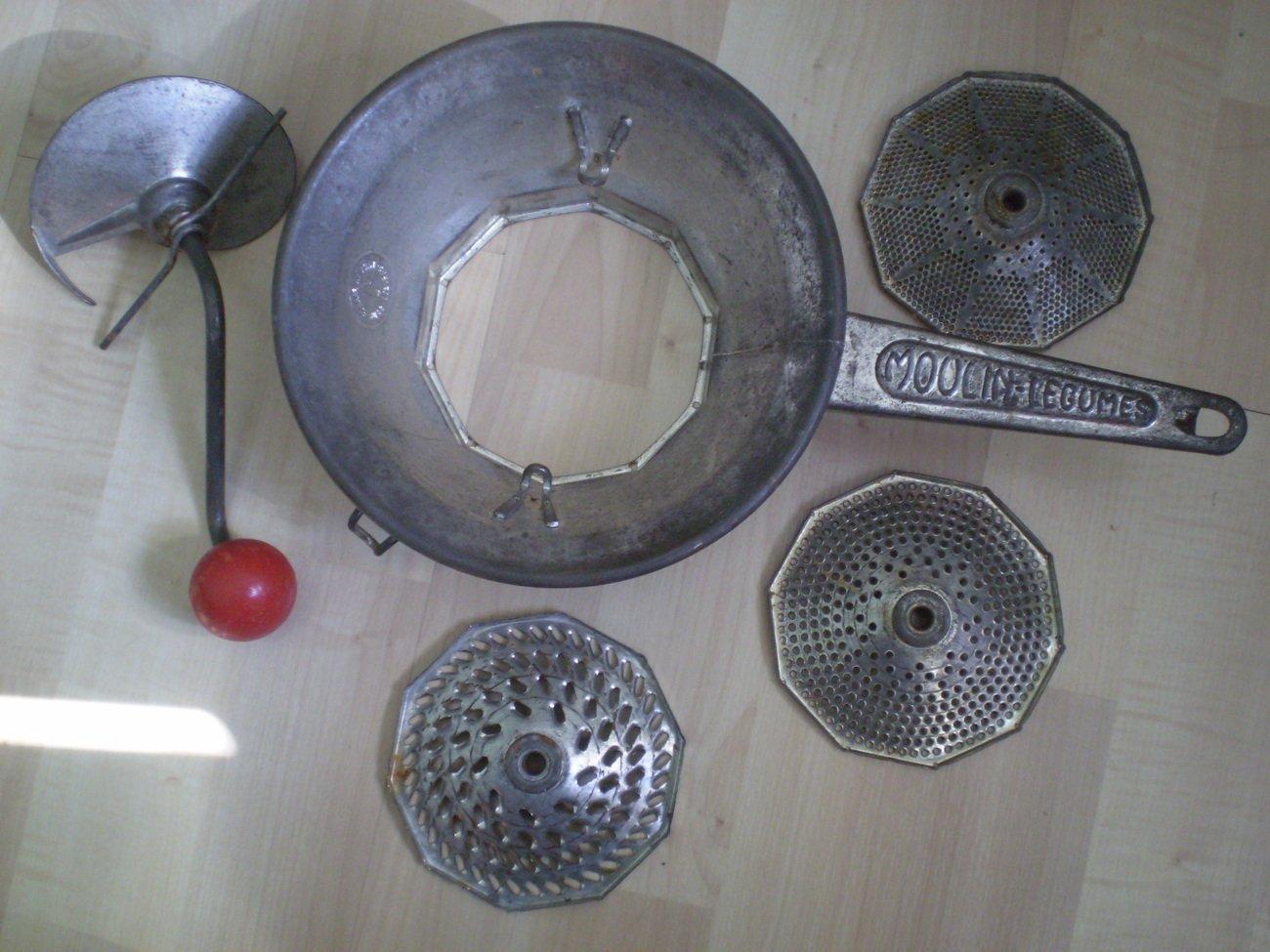 vintage moulin legumes 1 brevete food rice mill grater. Black Bedroom Furniture Sets. Home Design Ideas