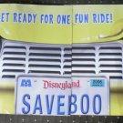 Disneyland 50th Mailer Monsters Inc Monstropolis Ride