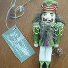 Nutcracker Ornament Seasons of Cannon Falls Bell Ringer 915448