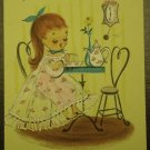 1950s Vintage Greeting Card I'm Lonesome Hallmark