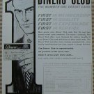 Vintage Ad Diners Club 1963 Number One Credit Card