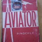 Vintage Aviator Pinochle Playing Cards Red Tax Stamp