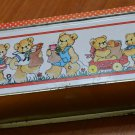 Lucy Rigg Coupons Tin Container Vintage Bears 1982 Lucy & Me Enesco Box