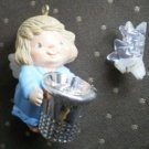 Hallmark Merry Miniatures Angel Thimble Star Ornament QX4304