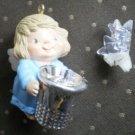 Hallmark Merry Miniatures Angel Thimble Star Ornament QX4304