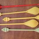 American Airlines Swizzle Sticks Lot 5 Vintage Swizzler AA Stirrers