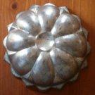 Vintage West Germany Metal Tin Mold Starburst Flower Bread Cake German
