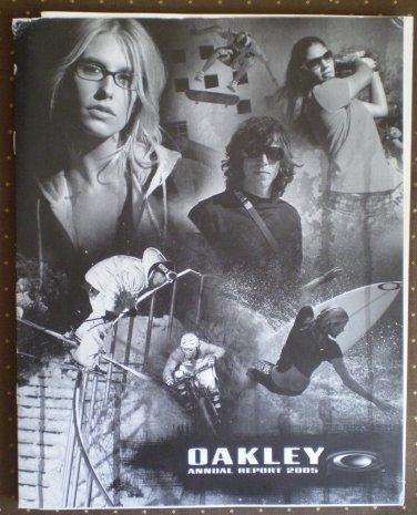 Oakley Annual Report 2005 SEC Form 10Q 10K 10KA