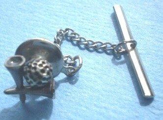 Vintage Tie Pin Tack Golf Ball Tee Men's Jewelry