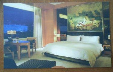 Pangu 7 Star Hotel Postcard Beijing China 2011 Room
