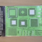 Berol RapiDesign R-352 Microelectronics Packaging Pin Grid Array 2x scale NIP Vintage